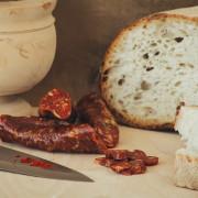 Salsiccia allo Zafferano stagionata