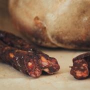 Salsiccia di fegato stagionata